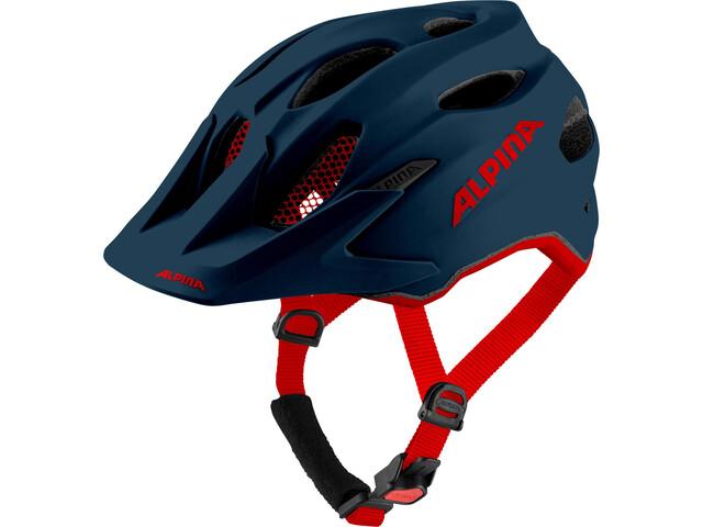 Alpina Carapax Helmet Youth indigo matt